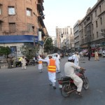M.A Jinnah Road Crossing Before Namaz