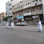 Members take Security Measures at Adam Masjid Suroundings