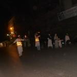 Members Manage Traffic at Tayabyah Jamat khana Road Crossing