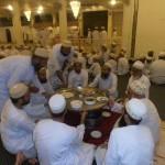 Burhani Guard Niaz Members Serve Thall to Amil Sahab Adam Mohallah Janab Saifuddin