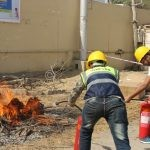 Firefighting and Safety Training Program by Division 4