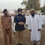 Mulla Mansoor Jack with SP City Shela Qureshi at KPI Ground in Moharram 1439