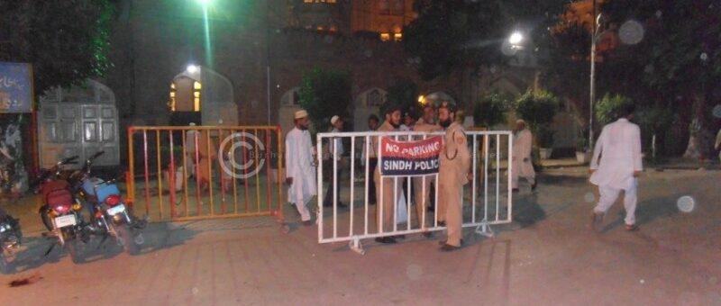 Masjid Main Gate Security